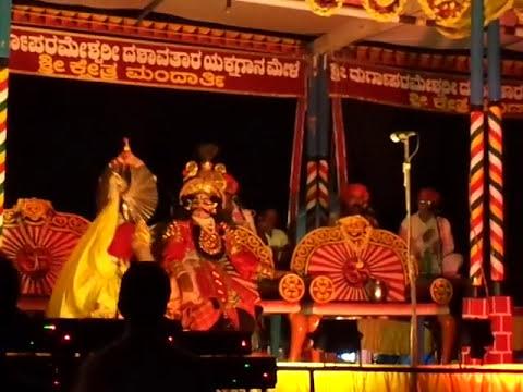 Yakshagana Mandarthi mela... Abhimanyu ... Prasanna untooru