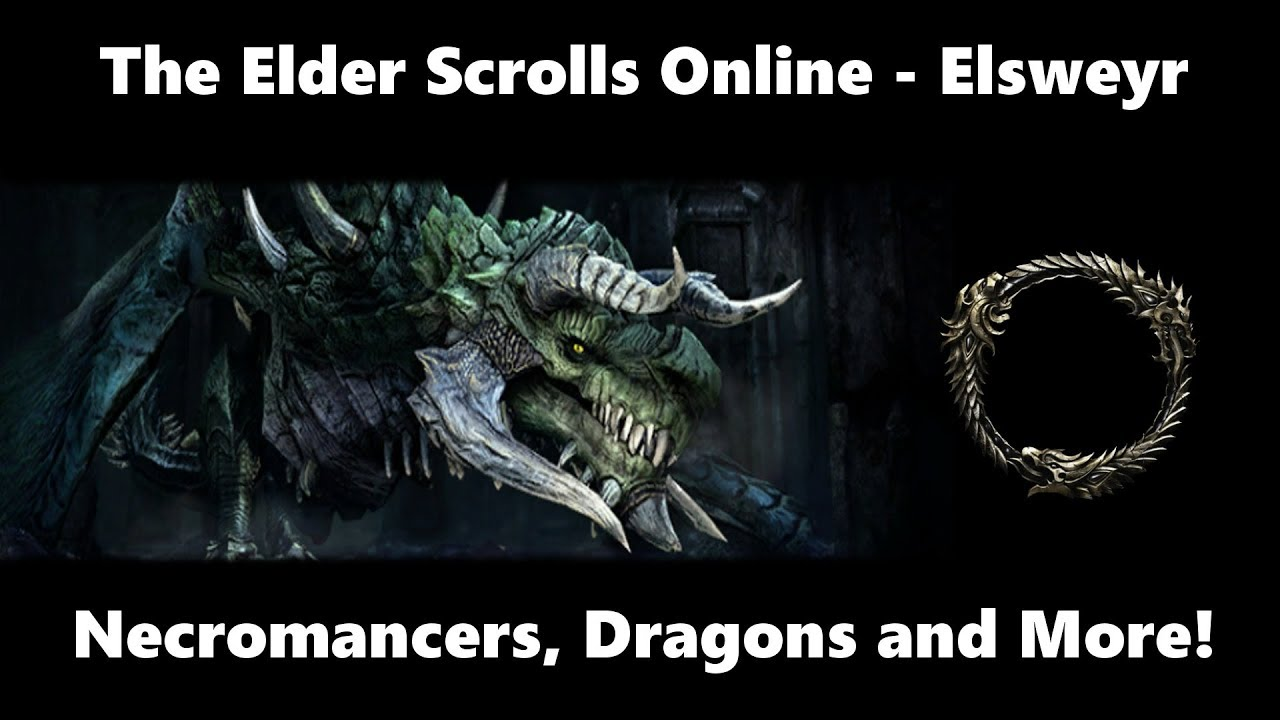 ESO Elsweyr Chapter | Necromancer Class and Dragons?!