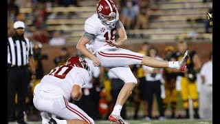 Alabama Football Returns One Of The Nation's Top Kickers In Will Reichard | SEC Football | CFB News
