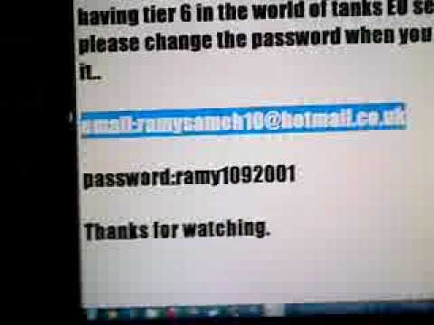 world of tanks free account giveaway
