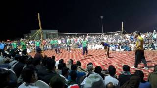 Shooting Volleyball Match Sharjah Final Shani Gujjar Mohsin Samot Wali Ball On Android Mobile Phone