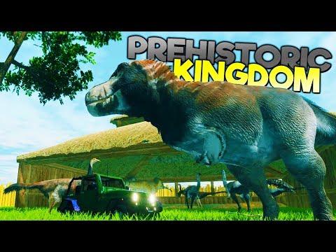 MANAGING A PREHISTORIC AMUSEMENT PARK & BREEDING DINOSAURS! - Prehistoric Kingdom Gameplay