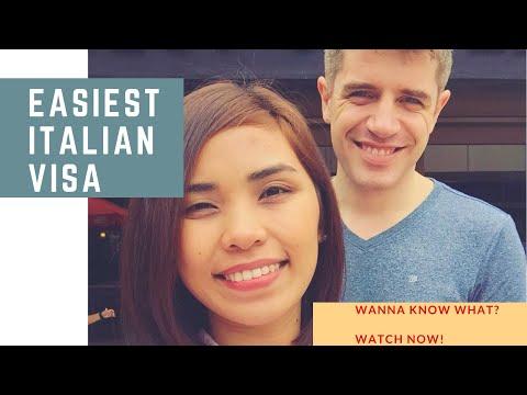 EASIEST ITALIAN VISA TO GET!!! |Watch Here! Italian Filipina Relationship | LDR