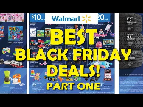 🤯 BEST Walmart Black Friday Deals! - Part One (2020)