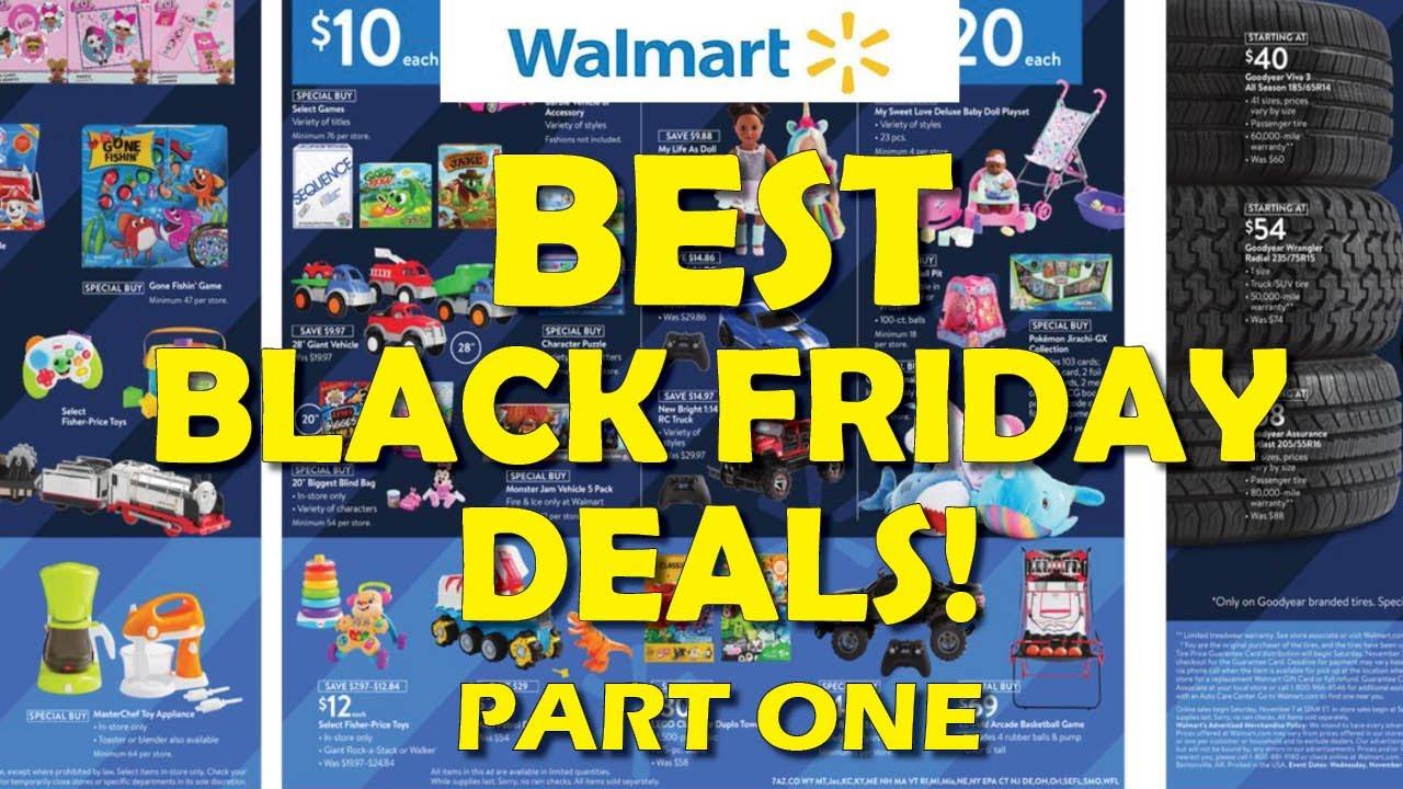 ? BEST Walmart Black Friday Deals! - Part One (2020)