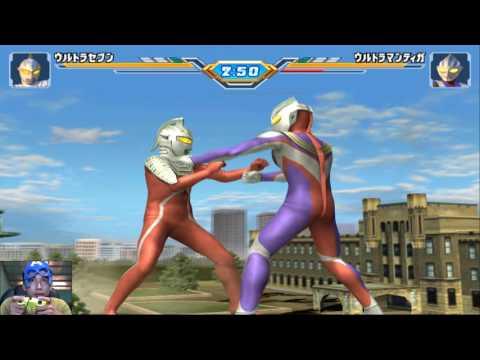 Sieu Nhan Game Play   Trận đấu ultraman the yêu cầu   Game Ultraman Figting eluvation 3