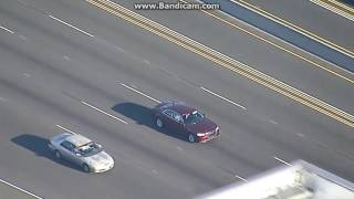 Anaheim California Police Chase 06/18/2017 - Reckless Driver