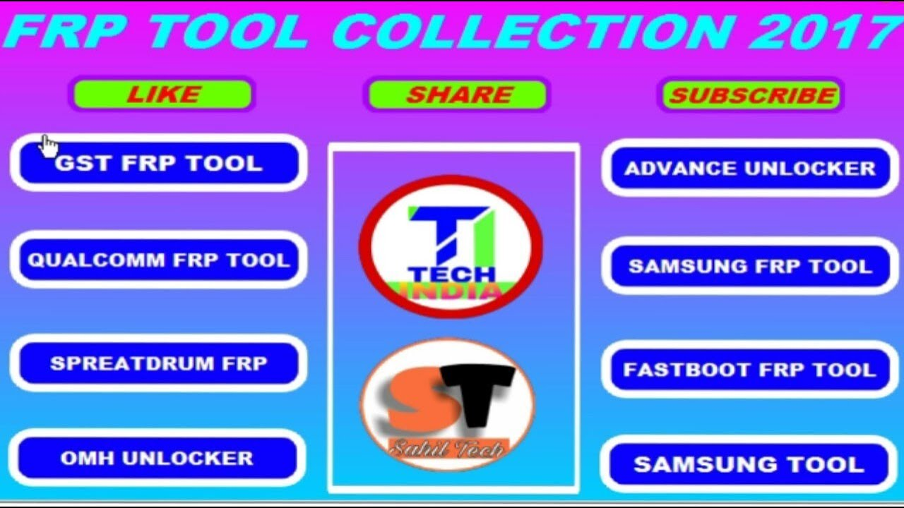 New Frp Tool collect 2017 | Mtk | Spd | Qualcomm | Samsung | Htc | New 2017  Frp Patch | Hindi