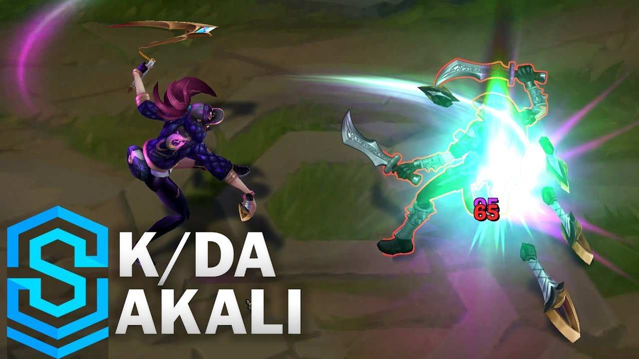 k da akali skin spotlight league of legends youtube. Black Bedroom Furniture Sets. Home Design Ideas
