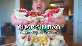 How to make CHAR SIU BAO (Steamed BBQ Pork Buns) | BANH BAO
