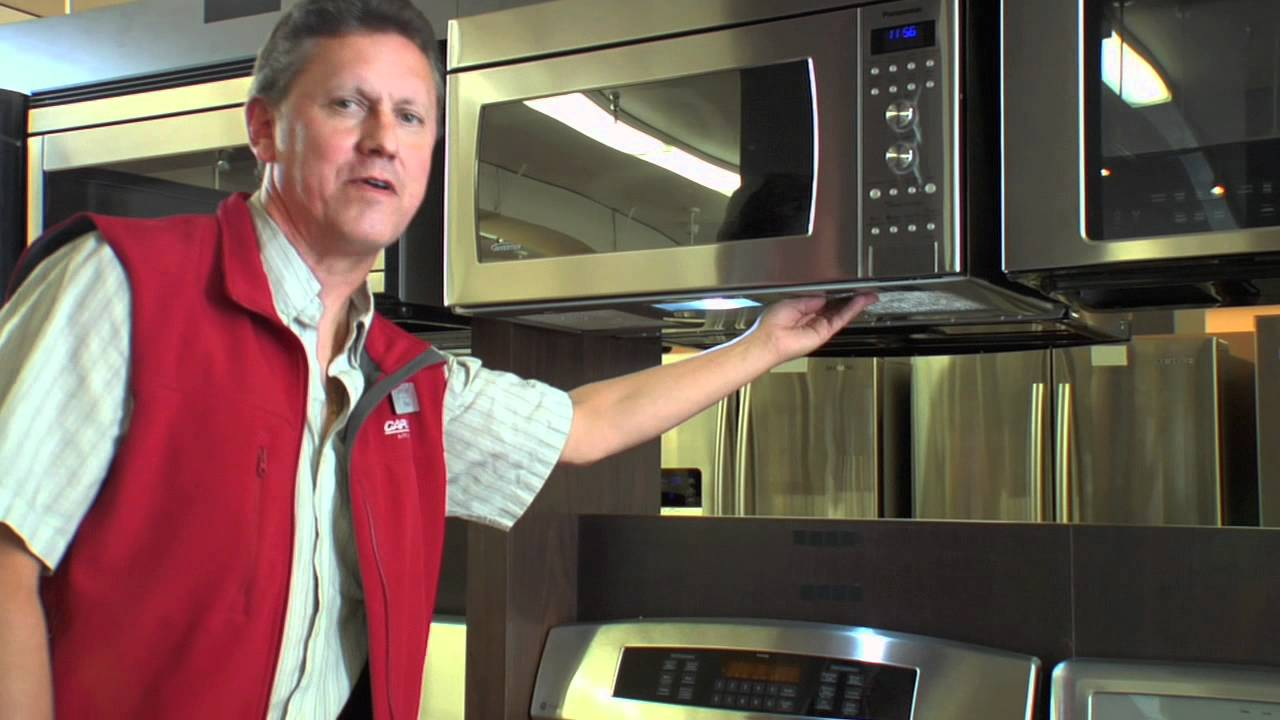 panasonic genius prestige inverter over the range microwave at caplan s appliances