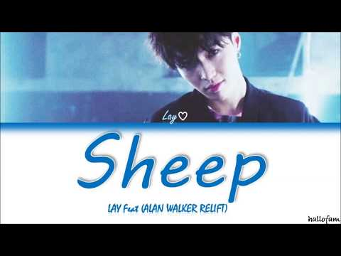 LAY X Alan Walker - Sheep (Alan Walker Relift) Lirik (Sub Indo) (Color Coded Lyrics)