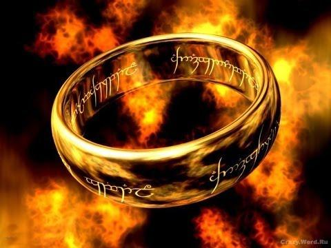 Посылка из Китая с сайта aliexpress мужское кольцо ( Властелин Колец )