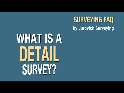 What Is A Detail Survey? | Jurovich Surveying Perth