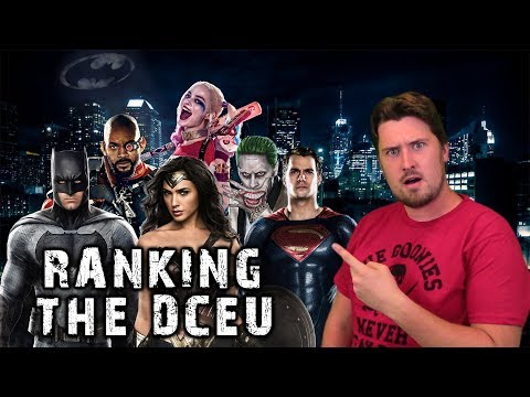 Ranking the DC Extended Universe