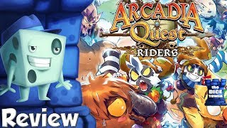 Tom Vasel takes a look at Arcadia Quest: Riders expansion from CMON...