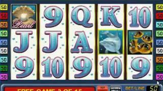 Игровые автоматы Dolphins Pearl (Дельфины) - Gaminator Novomatic(Бесплатный игровой автомат Dolphin's Pearl (Дельфин). Обзор игрового автомата, советы и рекомендации к игре. Только..., 2012-01-12T10:22:38.000Z)