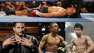 CHRIS ALGIERI RATES  & COMPARES HIS OPPONENTS PACQUIAO, ERROL SPENCE, KHAN & PROVODNIKOV