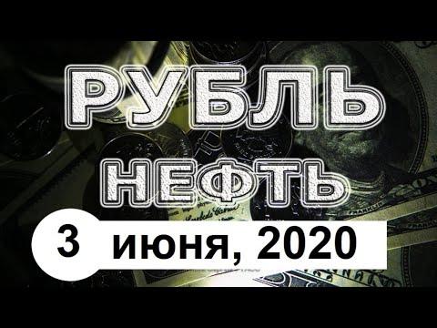 Курс доллара, 3 июня 2020