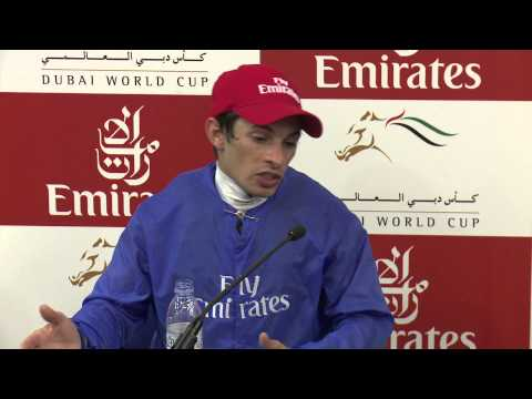 Interview with Silvestre De Sousa Dubai World Cup winning jockey 2014