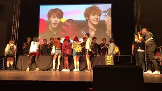 KCON18NY: Golden Child Hi-Touch (Part 1)