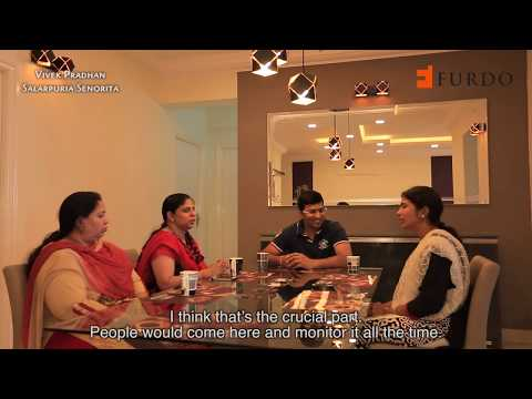 Furdo Home Interior Design: Salarpuria Senorita | 3BHK | Bangalore
