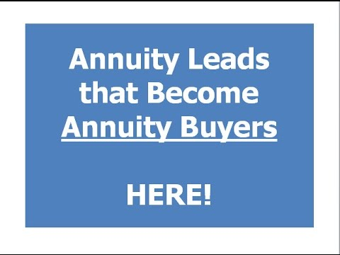annuity leads - annuity lead generation online
