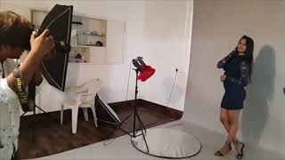 Behind The Shoot - Fashion Photoshoot | Unknown Model | Nikunj Sharma Photography