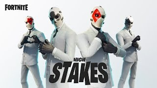 FORTNITE - High Stakes Skins & The Getaway LTM Trailer