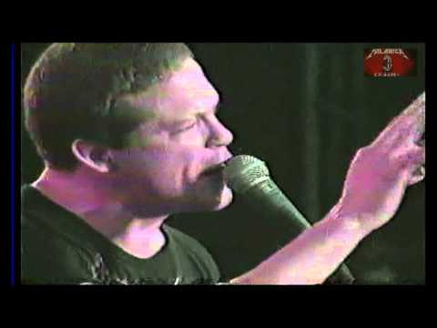 Metallica  Jason Newsted  vocals !!!! AMAZING  Creeping Death