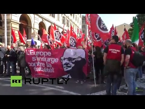 LIVE: Far-right CasaPound to demonstrate in Rome, counter-protest expected