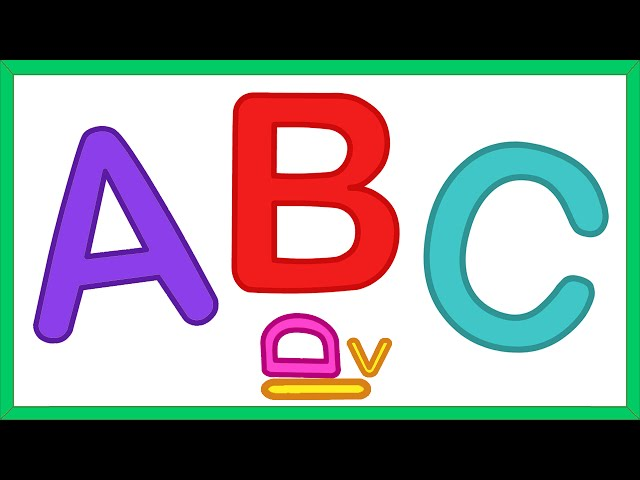ALPHABET SONG - Learn the Alphabet!