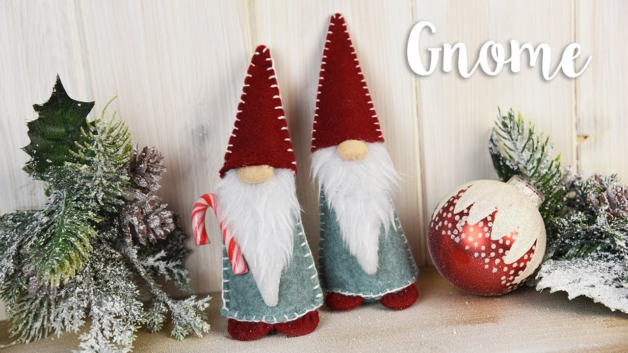 how to make your own christmas gnome sizzix lifestyle - Gnome Christmas Decorations