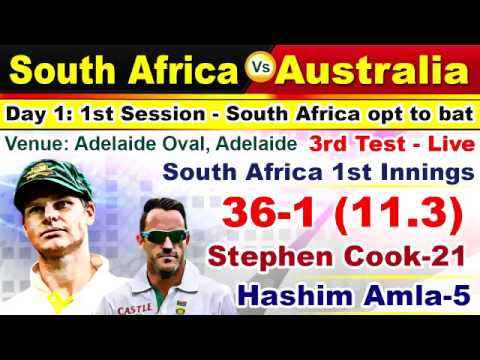 Australia Vs South Africa 3rd Test Live Cricket Score Commentary