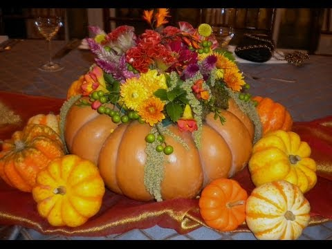 The Perfect Thanksgiving Centerpiece in a Fairy Tale Pumpkin from YouTube · Duration:  14 minutes 59 seconds