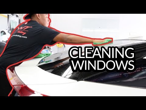 (How to) Clean your 3M Tinted Windows
