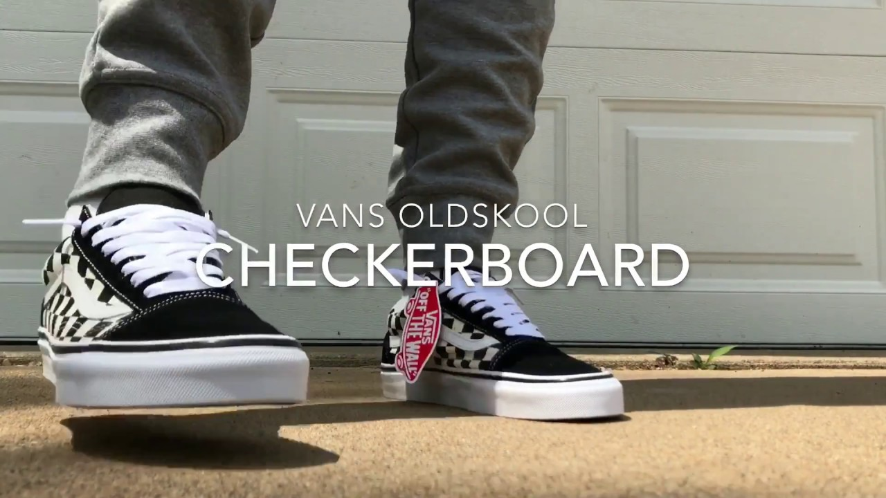 Vans Old Skool Checkerboard Youtube