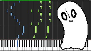Ghost Fight - Undertale [Piano Tutorial] (Synthesia)