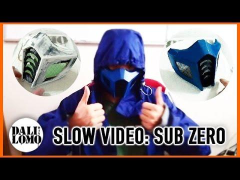 Make Mortal Kombat SubZero Mask - Cardboard How to DIY Cosplay