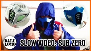 #104: MK Sub Zero Mask (full video) - Cardboard | template | Costume Prop | How To | Dali DIY