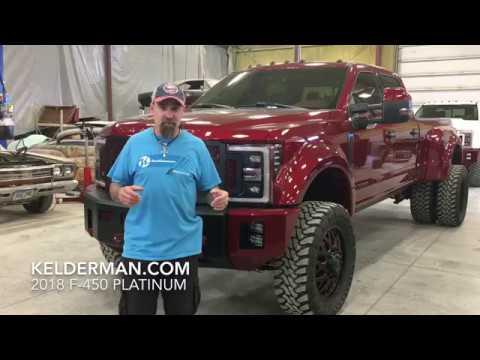 Kelderman 2018 Ford F-450
