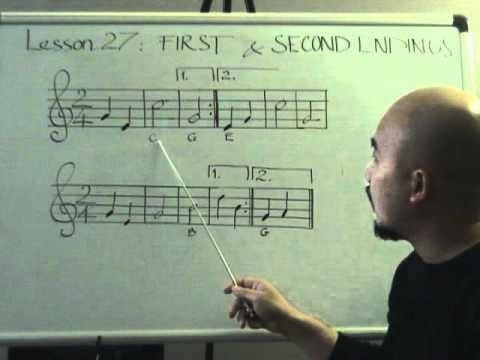 Nhạc lý căn bản bài 27( Kết thúc lần 1 & 2)