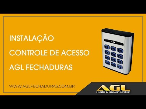 Instalação Controle de acesso AGL Fechaduras