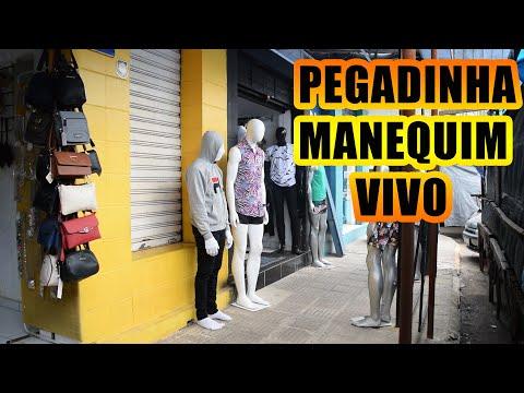 PEGADINHA MANEQUIM VIVO - ASSUSTANDO PESSOAS - Mannequin Prank #4
