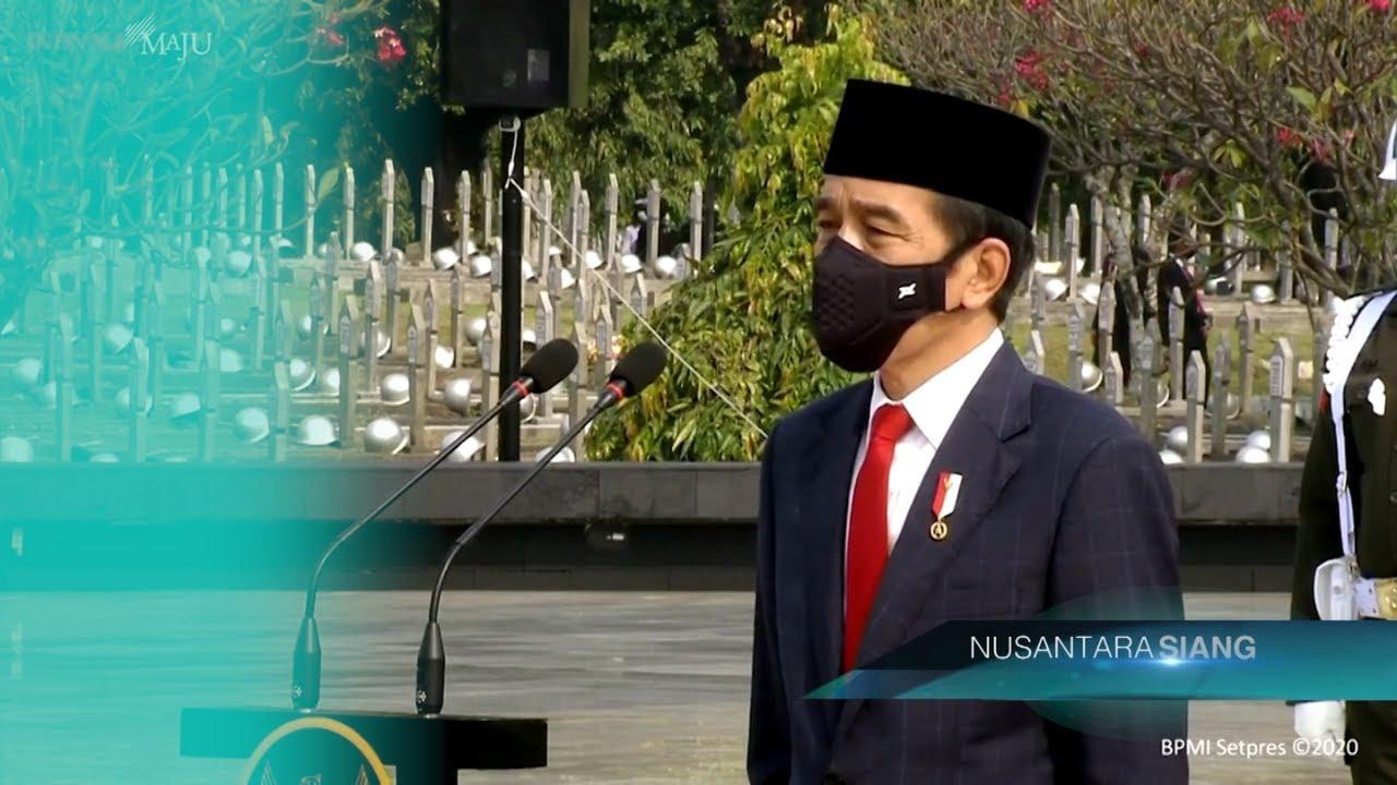 Jokowi Pimpin Upacara Ziarah Nasional