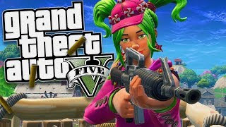 GTA 5 Mods - FORTNITE MOD w/ ZOEY (GTA 5 PC Mods Gameplay)