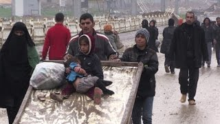 Escaping IS-held Mosul, residents head into unknown