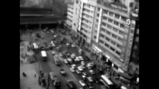 昭和37年5月 戦後17年の大阪市内の映像!