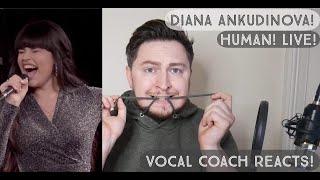 Vocal Coach Reacts! Diana Ankudonova! Human! Live! Ты супер! Финал: Диана Анкудинова, г. Москва.