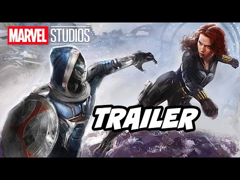 Black Widow Trailer - Avengers Marvel Easter Eggs Breakdown